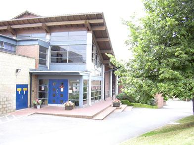 Bacon Theatre Entrance